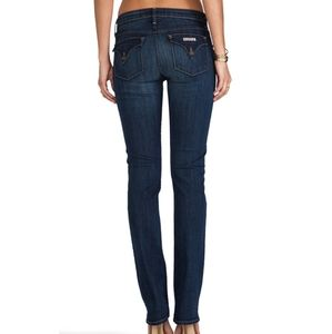 Hudson Carly Straight Jeans Size 26
